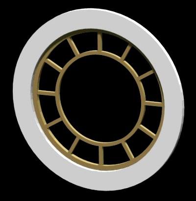 Round Window - Muntin Style No. 1