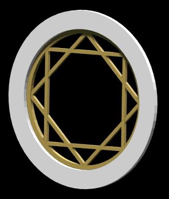 Round Window - Muntin Style No. 3