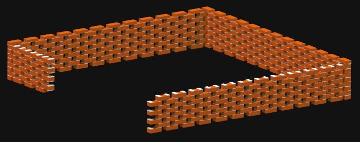 Brick Latticework